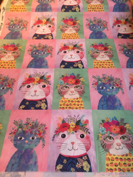 Floral Pets by Mia Charro | Cats