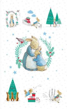 Peter Rabbit Christmas Panel