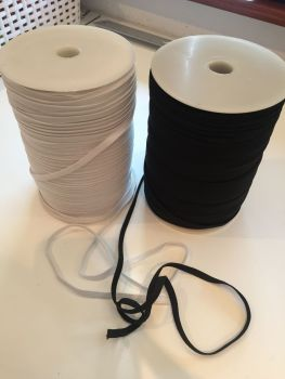 Elastic | White 6mm