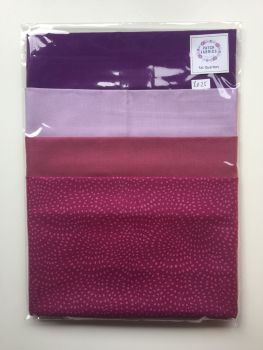Fat Quarters | Purple & Pattern