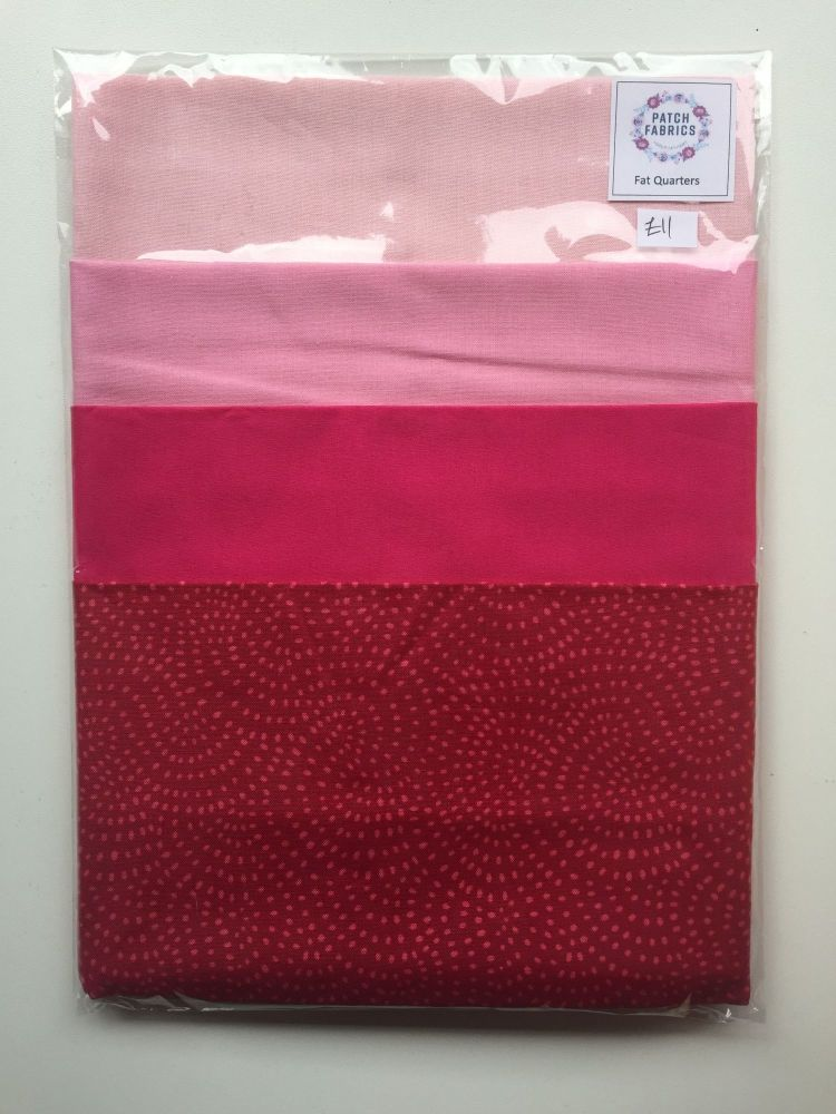 Fat Quarters | Pink with a Twist