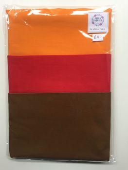 Half Meter Packs | Warm Colours