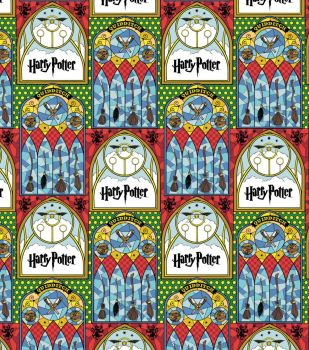 Harry Potter | Stained Glass Broomsticks