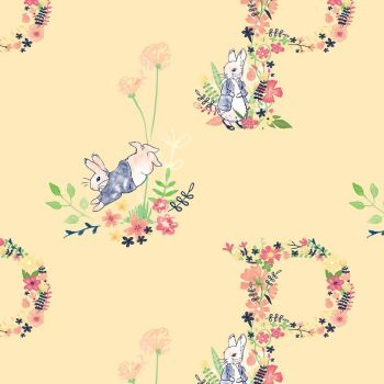 Peter Rabbit | Floral Letter