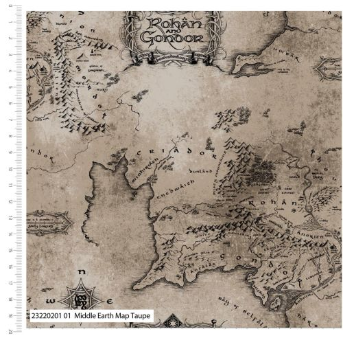 Lord Of The Rings| Middle Earth Map