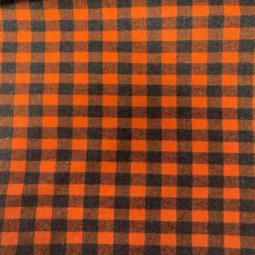 Brushed Check | Orange