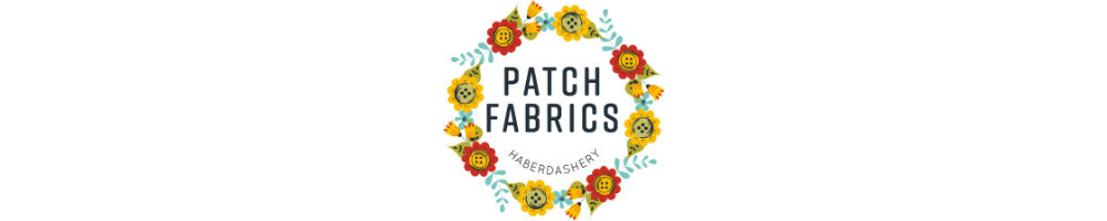Patch Fabrics, site logo.