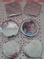Personalised Compact Makeup Mirror
