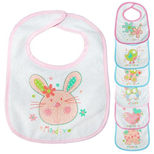 Cotton Baby Bibs Bundle Set For Boys Girls Toddlers Newborn Babies Kids Children Unisex Multipack Soft Large Animals Zoo Waterproof Plastic Back Teething Weaning 0 1 2 3 6 9 1.jpg