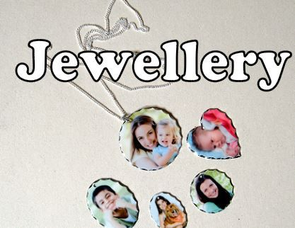 personalised printed photo jewellery
