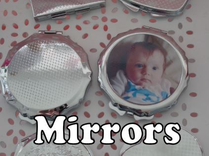 personalised compact makeup mirrors