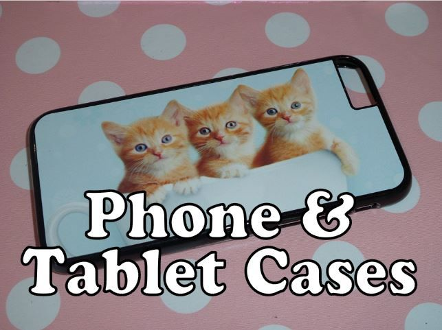personalised phone covers and tablet cases