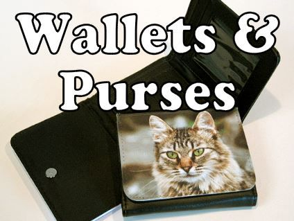 personalised purses and wallets