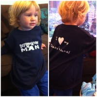 Chilldren's Personalised T-shirts