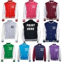 Personalised Varsity / College Jackets