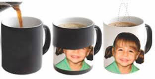 Personalised Heat-Change Photo Mugs