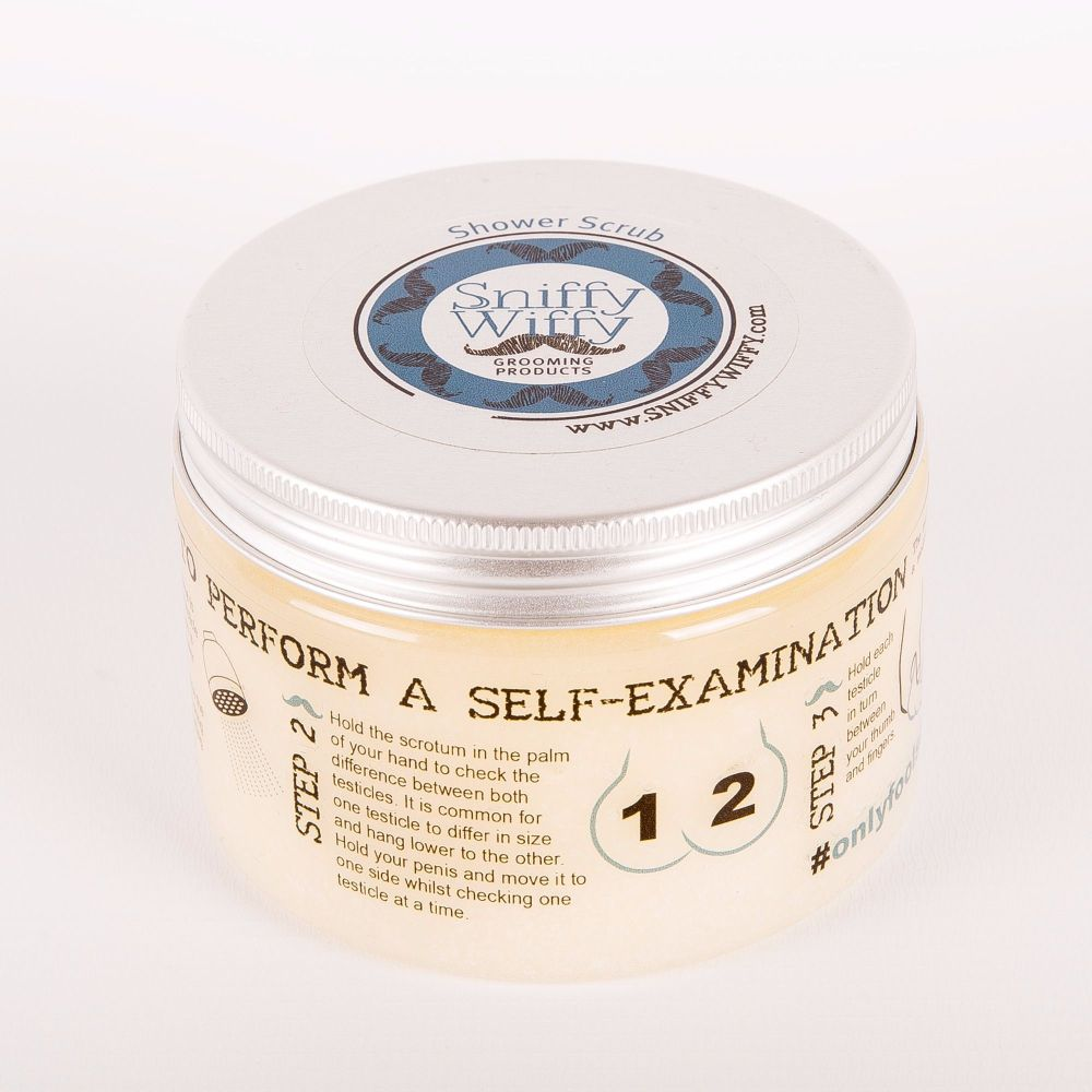 Male Shower Scrub (300g tub)