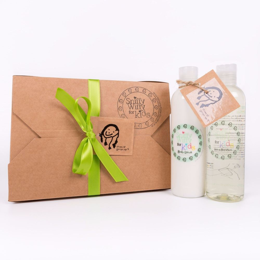Hair & Body Wash and Body Lotion set