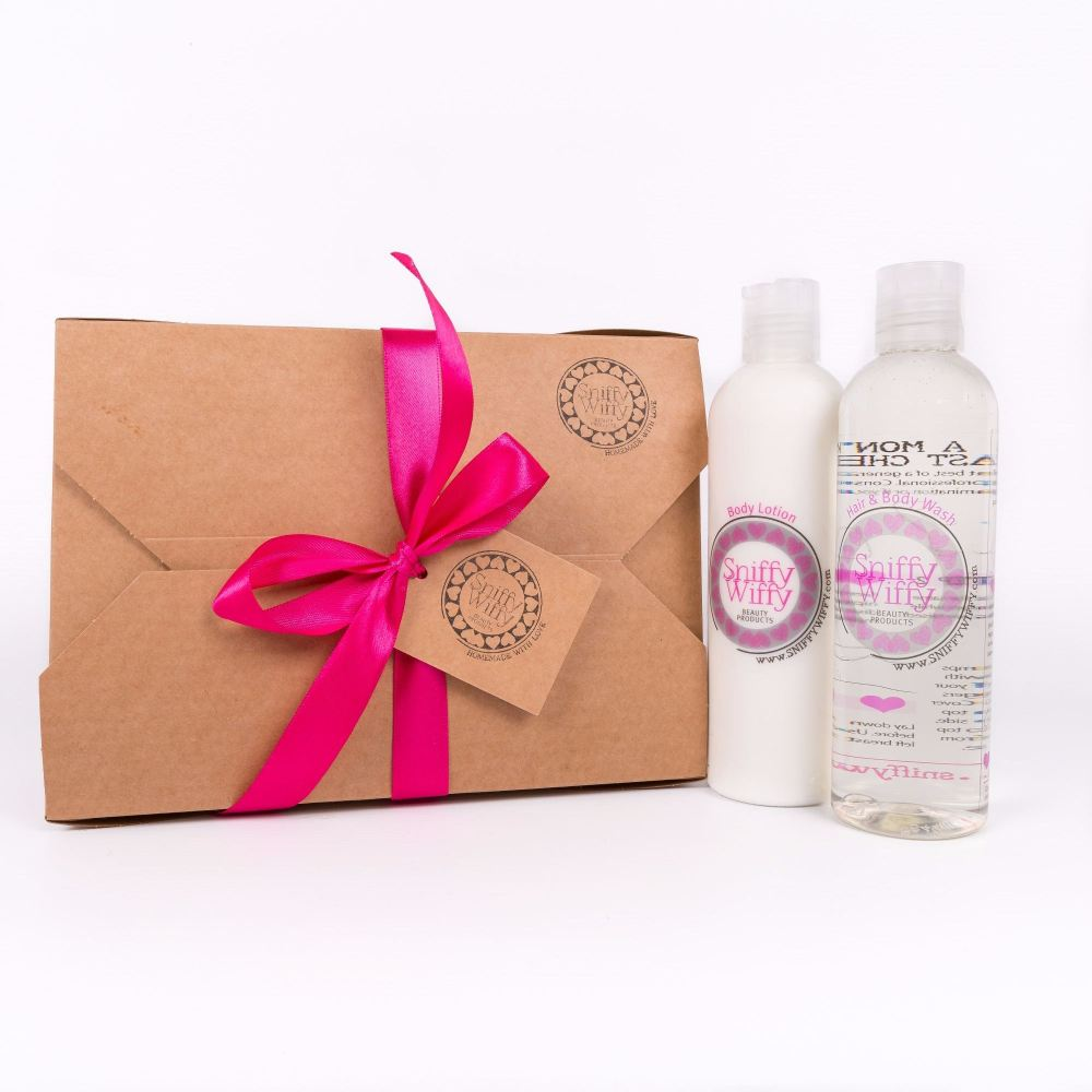 Hair & Body Wash/Body Lotion Gift Set