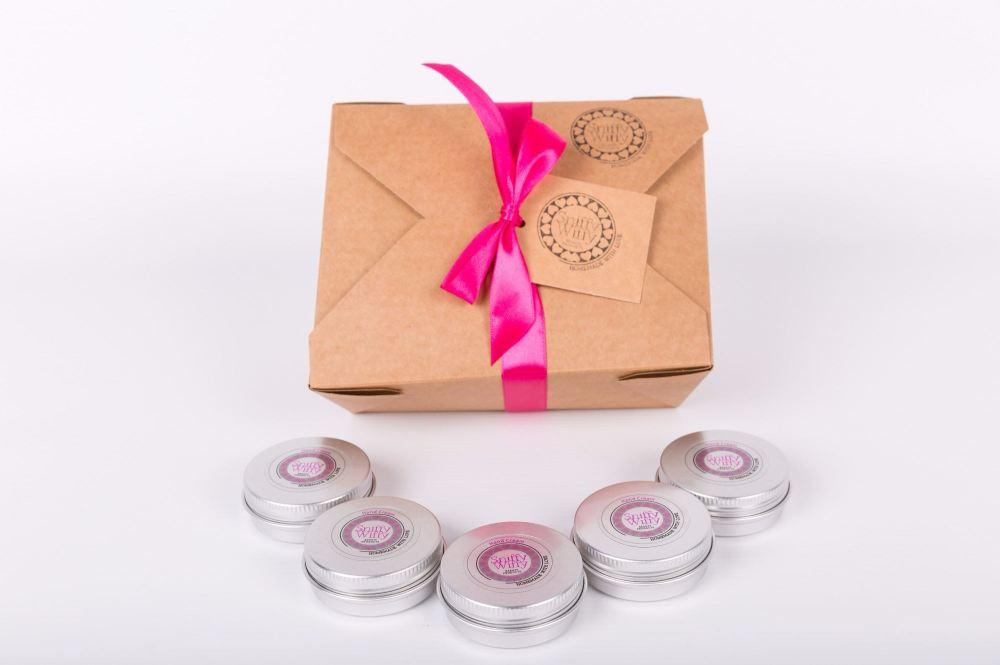 5 mini Hand Creams