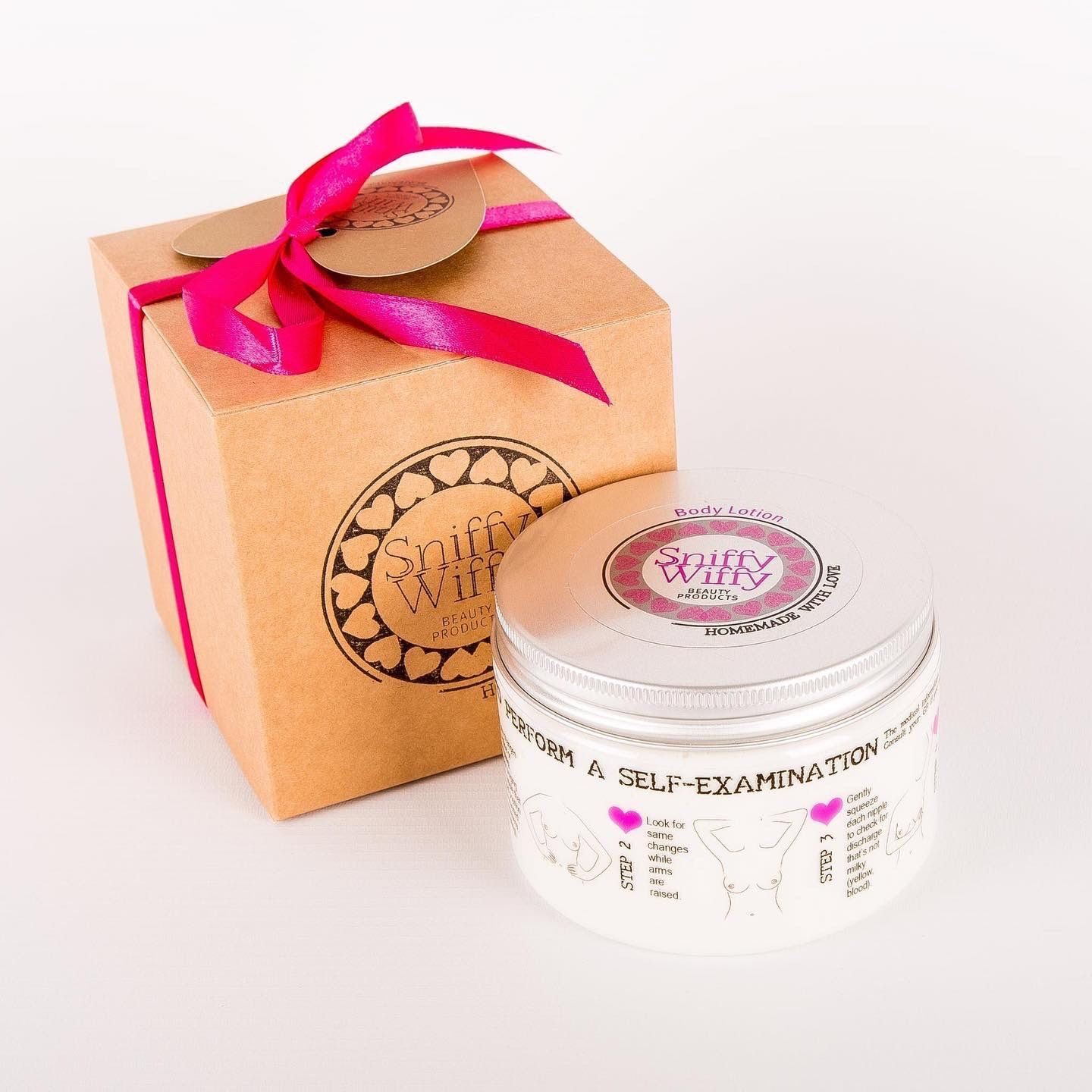 body lotion with gift box
