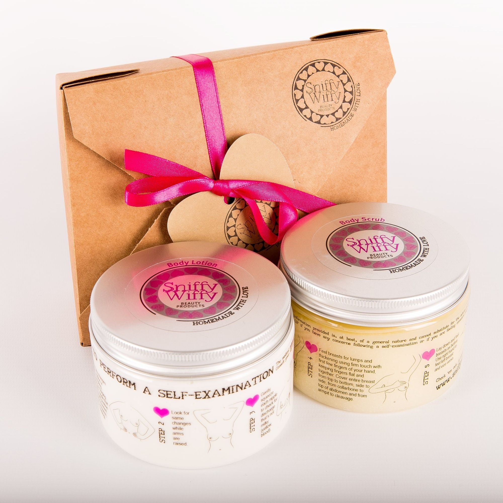 lotion and scrub gift set
