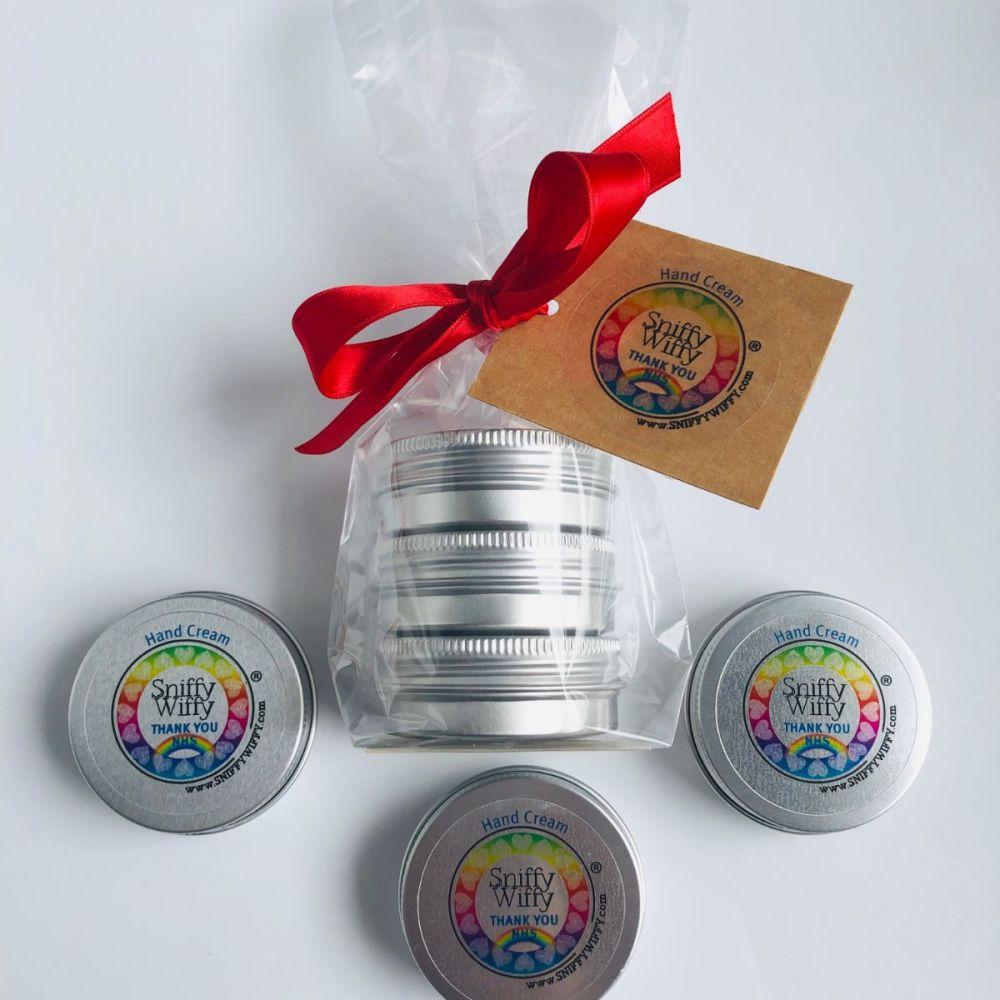 3 mini Hand Creams - Female Gift Set