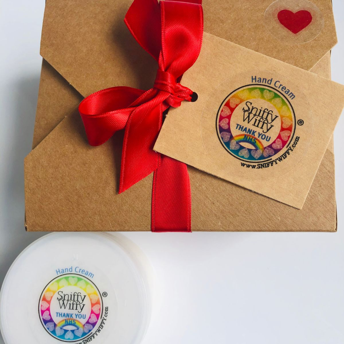 gift boxed handcream