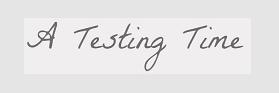 testing time