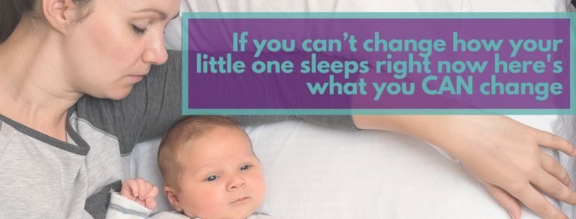 If you can't change how your little one sleeps right now heres what you CAN
