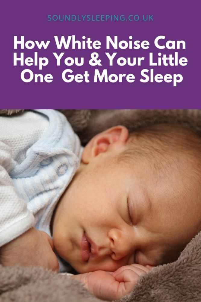 White Noise Can Help You & Your Little One sleep