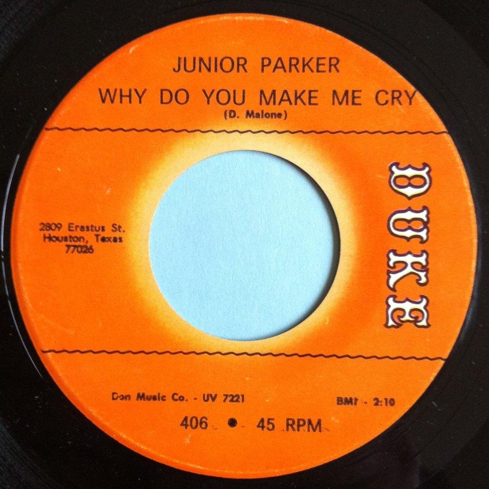 Junior Parker - Why do you make me cry - Duke - Ex