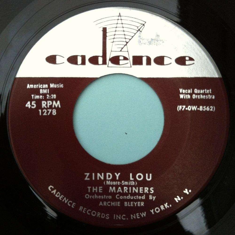 Mariners - Zindy Lou - Cadence - M-