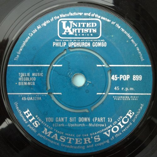 Phil Upchurch Combo - You can't sit down Pt. 1 - United Artists (UK) - Ex-