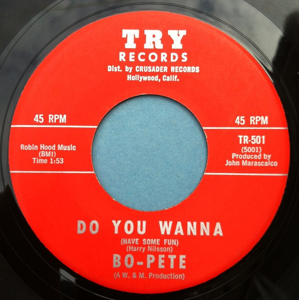 Bo-Pete - Do you wanna - Try - Ex