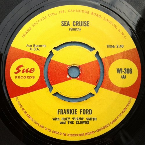 Frankie Ford - Sea Cruise - UK Sue - M-
