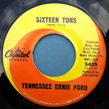 tennessee ernie ford sixteen tons 39 65 vers capitol ex. Cars Review. Best American Auto & Cars Review