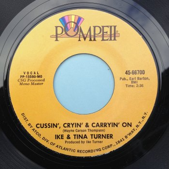 Ike & Tina Turner - Cussin' and carryin' on - Pompeii - M-