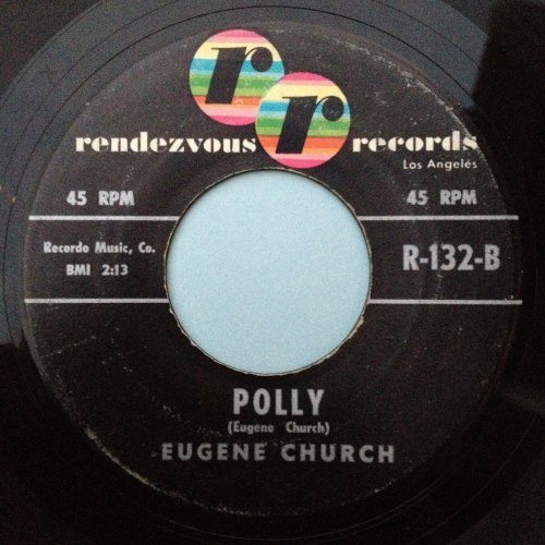 Eugene Church - Polly - Rendezvous - Ex