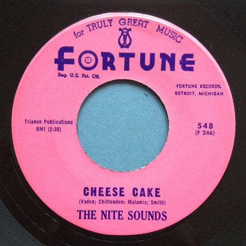 Nite Sounds - Cheese cake - Fortune - Ex
