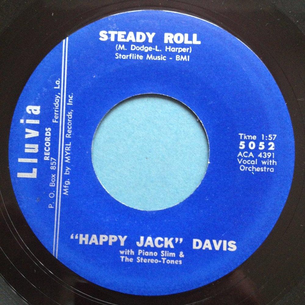 Happy Jack Davis with Piano Slim - Steady roll - Lluvia - Ex-