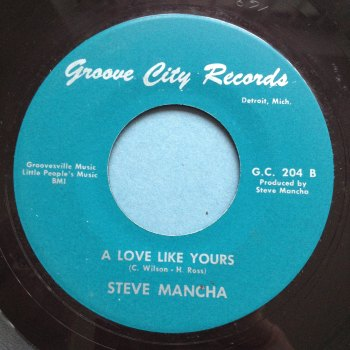 Steve Mancha - Hate yourself in the morning - Groove City - M-