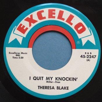 Theresa Blake - I quit my knockin' - Excello - Ex