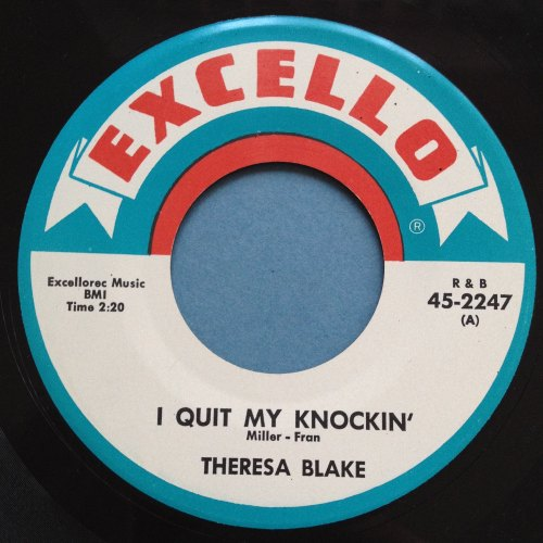 Theresa Blake - I quit my knockin' - Excello - Ex