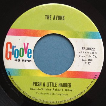 Avons - Push a little harder - Groove - Ex-