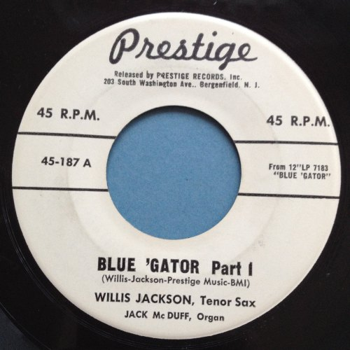 Willis Jackson & Jack McDuff - Blue 'Gator - Prestige Promo - Ex