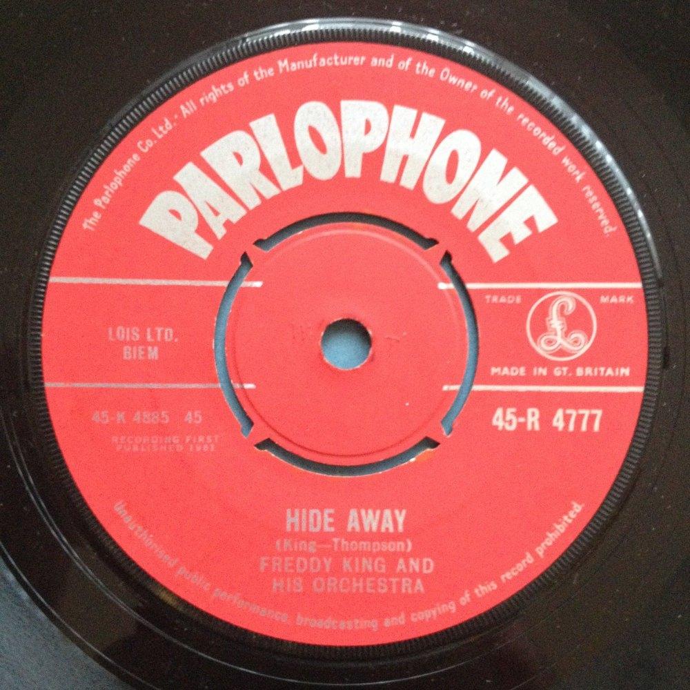 Freddy King - Hideaway - UK Parlophone - Ex