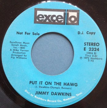 Jimmy Dawkins - Put it on the hawg - Excello Promo - Ex