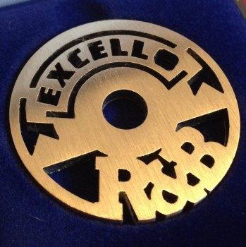 Excello Label 45 design