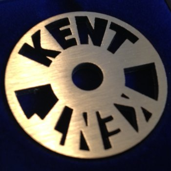 Kent double logo design